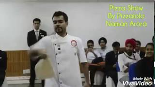 Acrobatic Pizza Maker India -  Acrobatic Pizza Show @Chandigarh