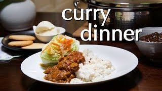 Curry Dinner: Dinner Party Tonight