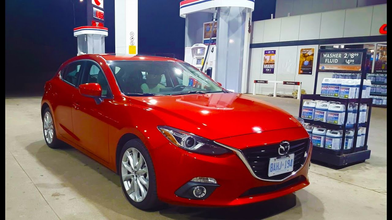 2017 Mazda 3 - Fuel Economy Review + Fill Up Costs - YouTube