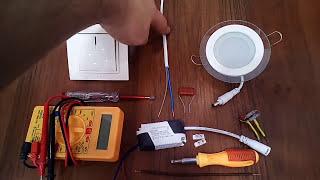 Устраняем мигание светодиодной лампы(, 2017-01-04T07:13:10.000Z)