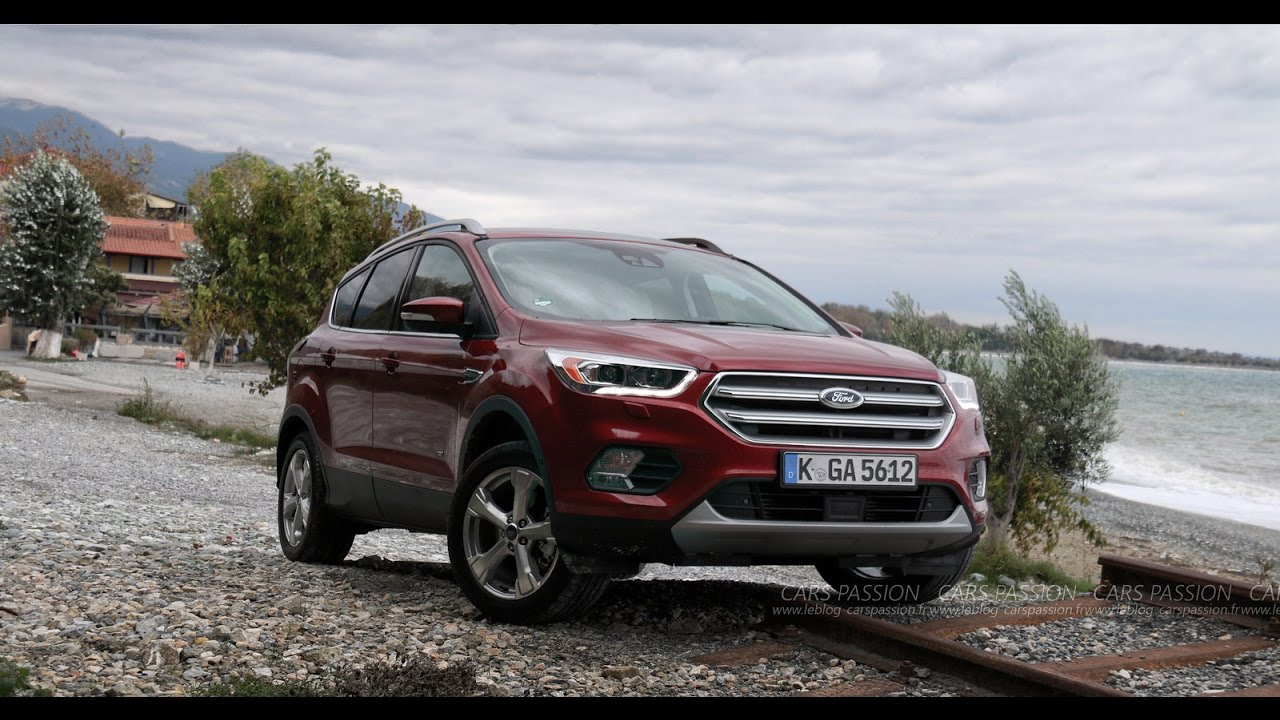 nouveau ford kuga 2017 roadtrip en gr ce youtube. Black Bedroom Furniture Sets. Home Design Ideas