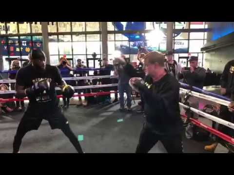 Live! Deontay Wilder MEDIA SCRUM: Wilder vs Ortiz Media Day-Brooklyn Barclay Center