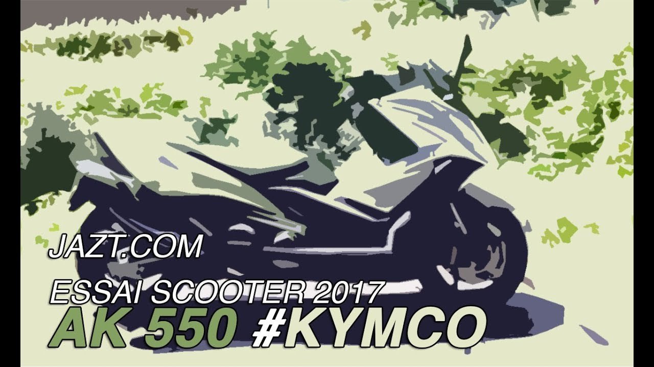 ak 550 kymco test essai scooter youtube. Black Bedroom Furniture Sets. Home Design Ideas