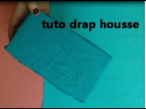 Tuto couture drap housse youtube for Housse de canape d angle
