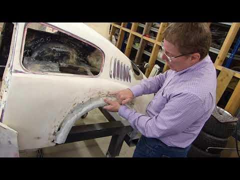Le Mans Mini Marcos body restoration