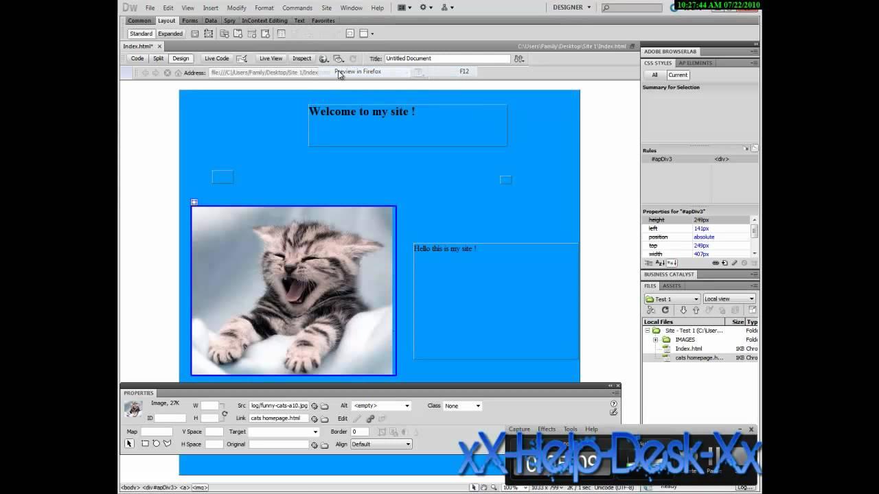 how to make a web site dreamweaver cs5 cs4 cs3 put it how to make a web site dreamweaver cs5 cs4 cs3 put it online