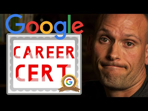Google Career Certificates | Replacing College Degrees, Coding Bootcamps & Self Taught Sites?