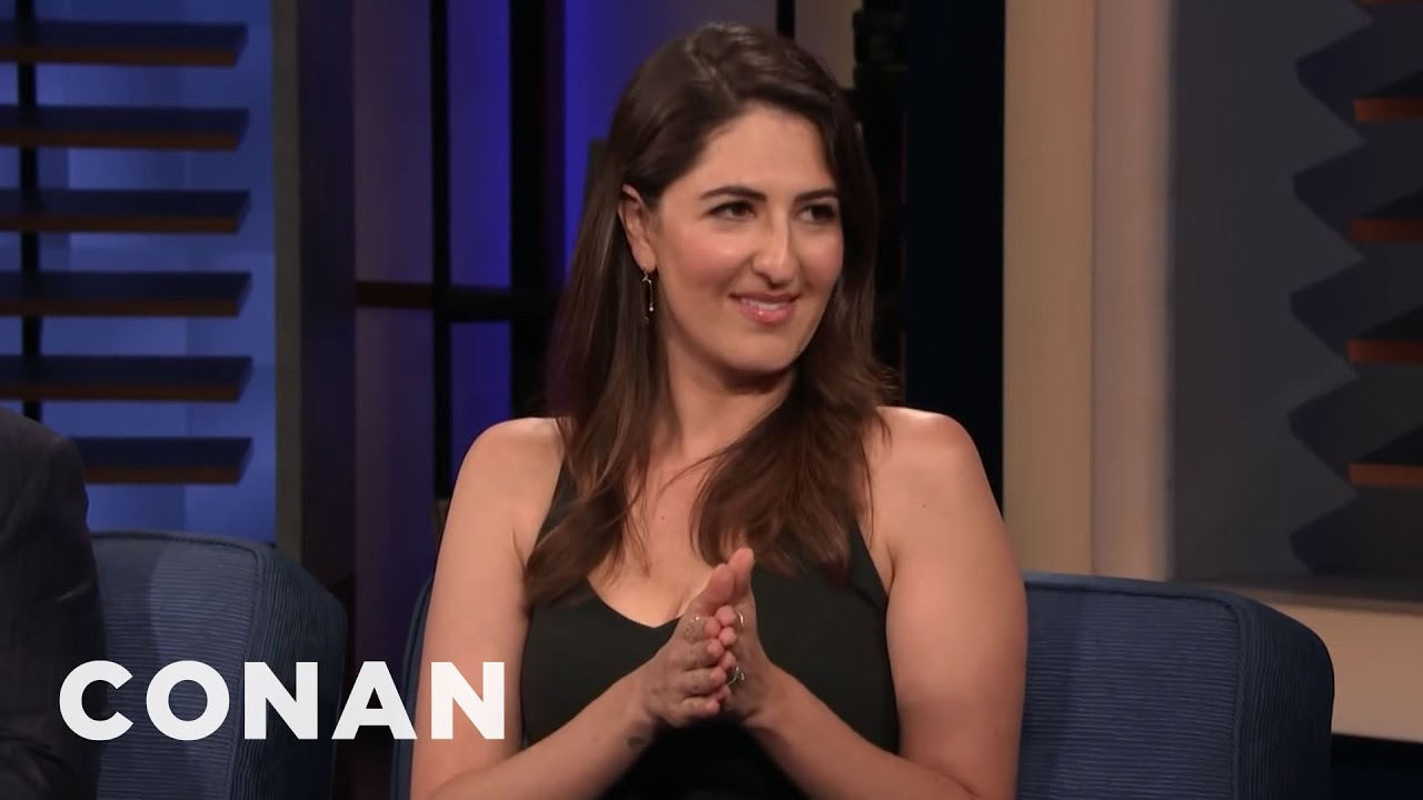 Download D'Arcy Carden Has A Very Rough Spine | CONAN on TBS