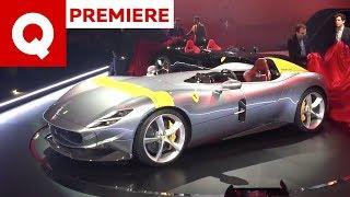 Le Ferrari Monza SP1 e SP2