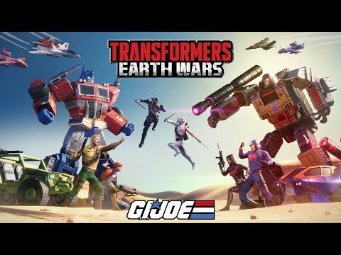 GI Joe and Autobots versus Cobra and Decepticons in Transformers Earth Wars
