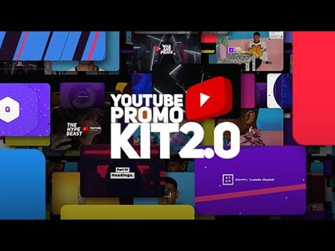 After Effects Template: Youtube Promo Kit 2.0