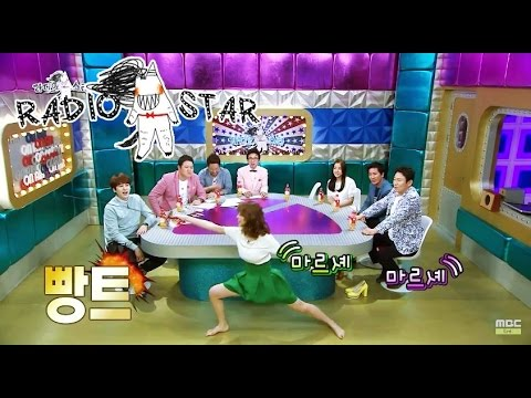 [RADIO STAR] 라디오스타 - Jin Se-youn shows Fencing demonstration 20150429