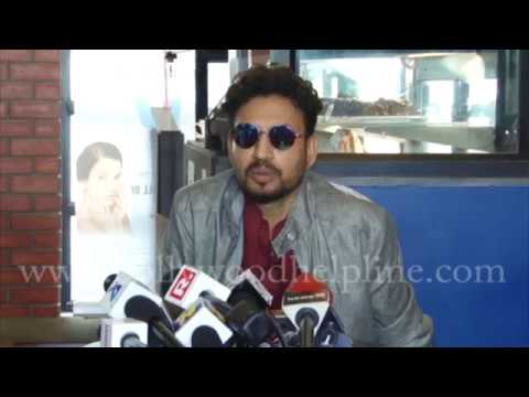 Irrfan Khan Talks About Song Aane De