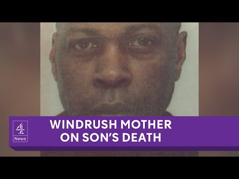 Windrush mother blames immigration problems for son's death