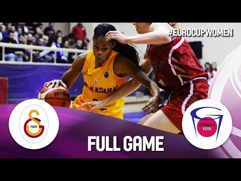 Galatasaray v Lointek Gernika Bizkaia - Full Game - EuroCup Women 2019