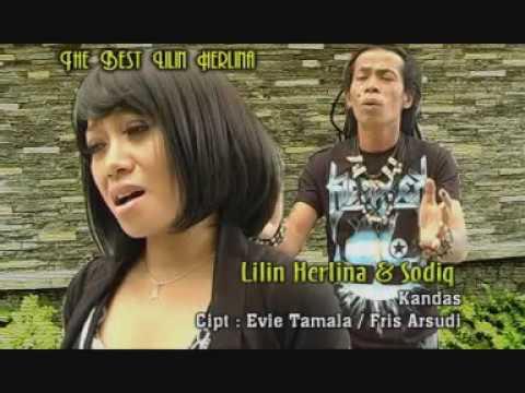 KANDAS  FULL LIRIK LILIN HERLINA VS SODIQ NGERI SUARANYA BIKIN MERINDING