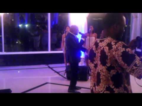 PEABO BRYSON MINI CONCERT DJ NY FANATIC & DJ SAM BOOGIE