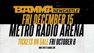 BAMMA Newcastle Promo