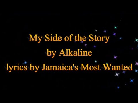 My Side of the Story - Alkaline (Cure Pain Riddim)  2016 (Lyrics!!)