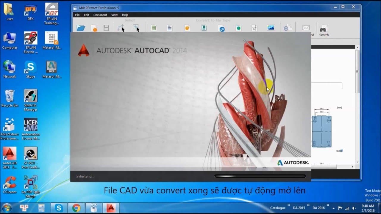Chuyển đổi file PDF sang CAD dễ dàng, nhanh chóng