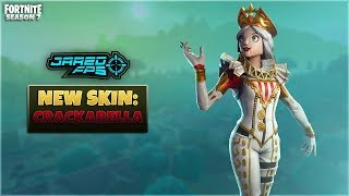 "New ""Crackabella"" Skin - Fortnite Battle Royale - JaredFPS"