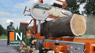 Norwood LumberPro HD36 Portable Band Sawmill - Manual or Hydraulic ... It's Your Choice!