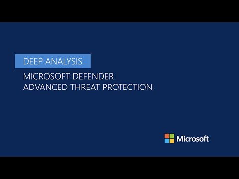 Deep analysis feature in Microsoft Defender ATP thumbnail
