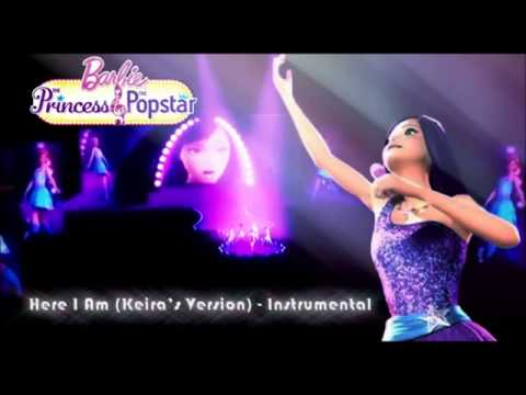 Barbie the princess and the popstar-Here i am (Instrumental)