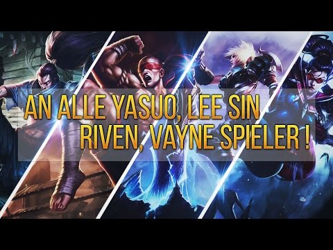 An Alle Yasuo,