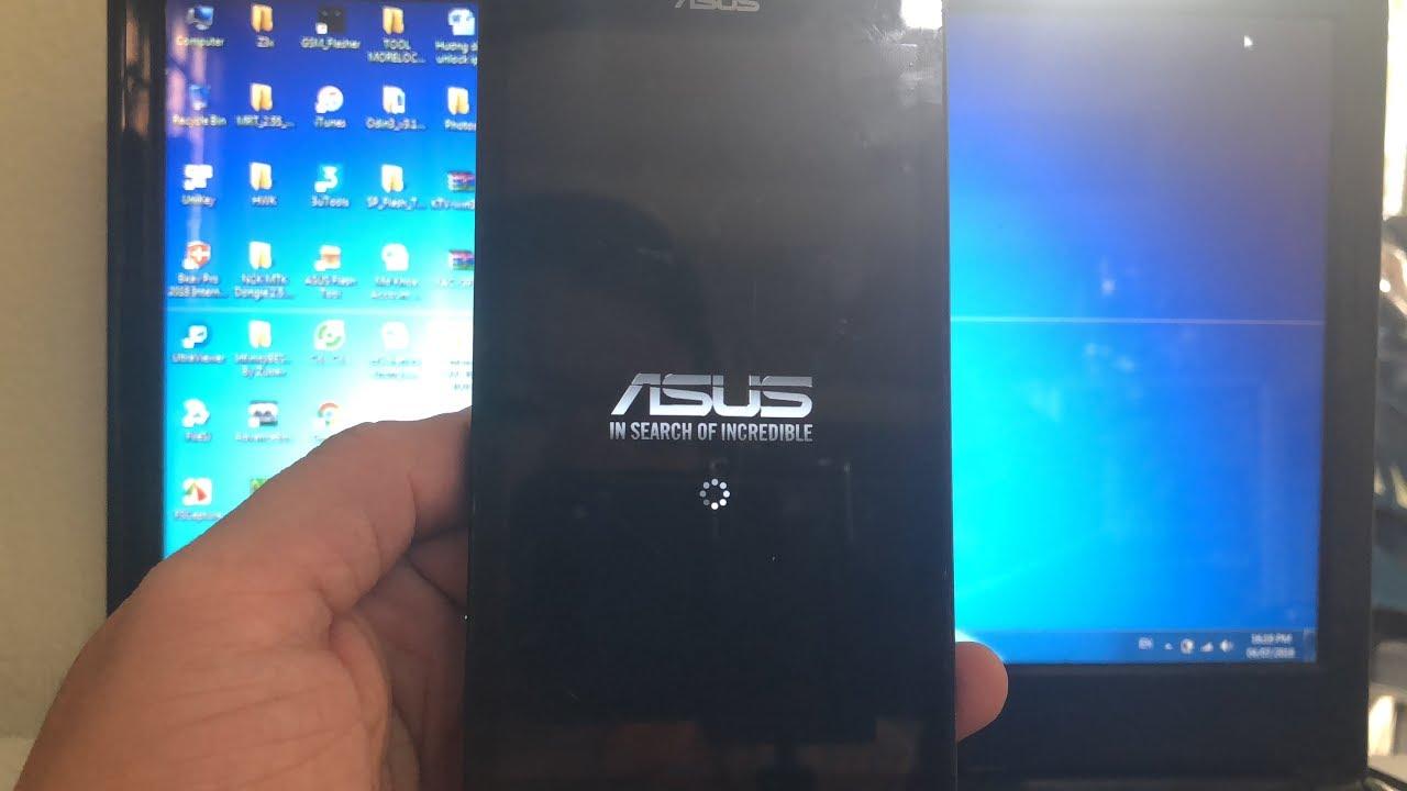 Asus Zenfone 5 T00J T00F Treo Logo - Flash File Raw By Asus FlashTool Ok