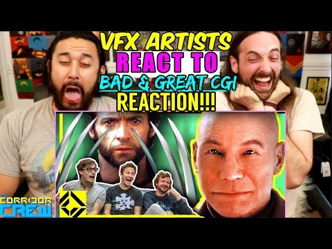 VFX Artists React to Bad & Great CGi 5 - REACTION!!!