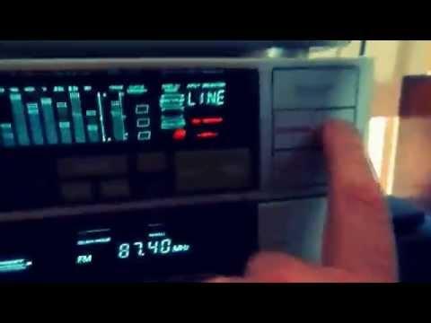 akai stereo system amu3