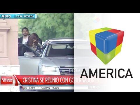 Cristina trazó su futura estrategia política con los gobernadores del FpV