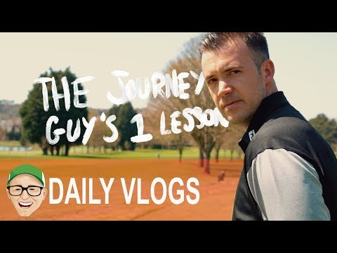 THE JOURNEY GUY'S 1ST GOLF LESSONS