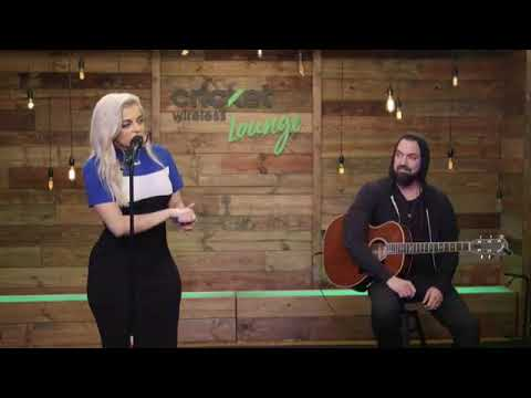 Bebe Rexha - Meant To Be (Acoustic at Cricket Wireless Lounge)