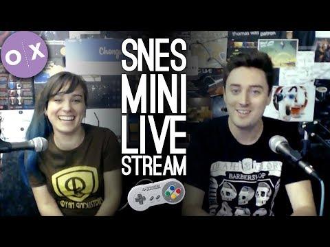 SNES MINI LIVE STREAM - Outside Xtra Plays SNES Mini Live from Loading Bar