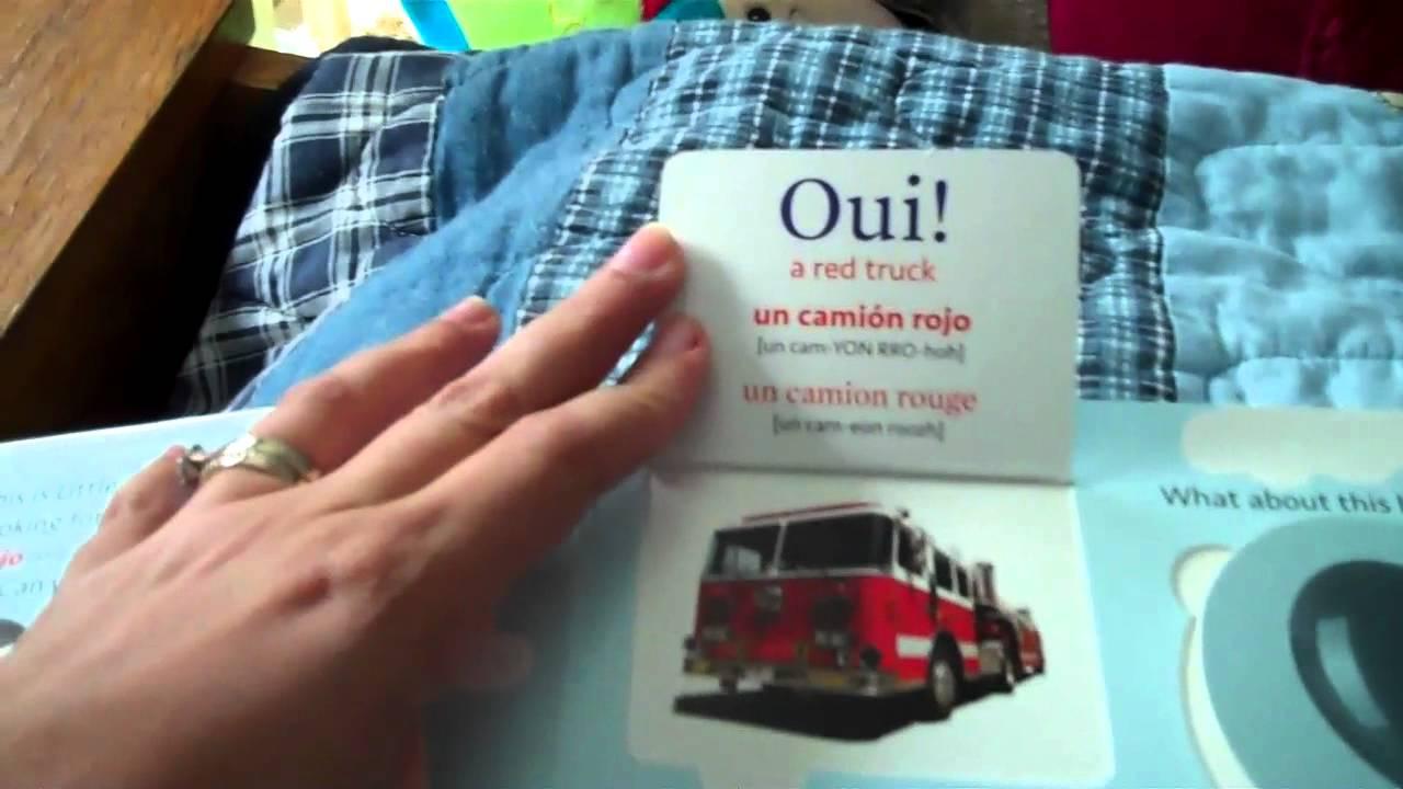 Little Pim Colors book by Julia Pimsleur Levine Review by Da - YouTube