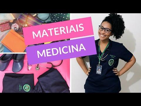 Meus Materiais Escolares para Faculdade de Medicina 2017