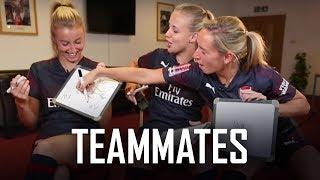 Teammates | Jordan Nobbs, Leah Williamson & Beth Mead