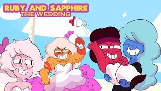 Ruby and Sapphire -The Wedding (Ruby and Sapphire Getting Married)  Steven Universe Comic Episode 22