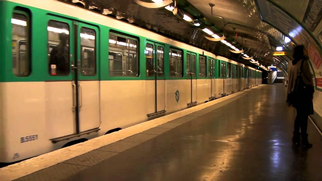 Paris metro 4 porte de clignancourt youtube - Metro porte de clignancourt ...