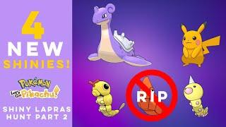 Shiny Lapras Hunt in Pokemon Let's Go, Pikachu! | PART 2
