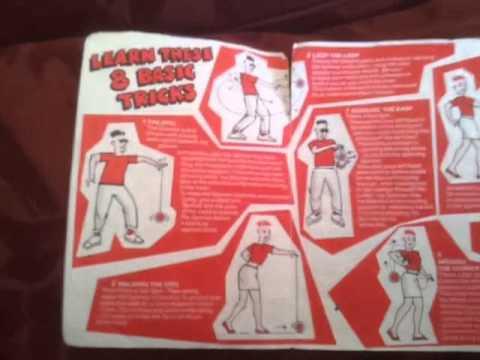 coca cola spinner tricks yo yo leaflet circa 1988 youtube. Black Bedroom Furniture Sets. Home Design Ideas