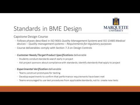 Design Standards for Biomedical Engineering