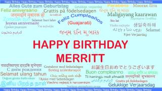 Merritt   Languages Idiomas - Happy Birthday