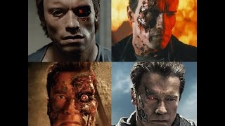 Terminator 1-3 & Genisys End Fights