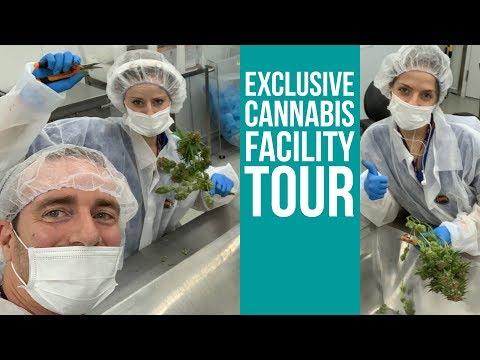 Flowr Facility Tour — Canada's high-tech marijuana operation $FLWR