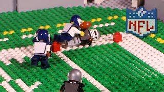 NFL: Los Angeles Rams @ Oakland Raiders (Preseason Week 2, 2017) | Lego Game Highlights