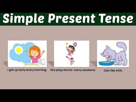 Simple Present Tense - Learn Basic English Grammar | Kids Educational Video