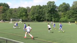 Acton Boxborough Varsity Boys Soccer vs Weston 9/6/14